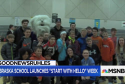 #GoodNewsRuhles: Nebraska middle school encourages morning hellos