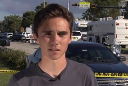 Student on Shooting: 'I don't want something like this to ever happen again'