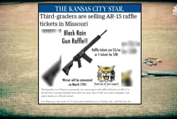 Controversy sparks as Missouri youth baseball team raffles an AR-15 for fundraiser