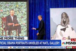 Michelle Obama says portraits meant to inspire young women of color