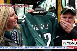 Big Picture: Parents buy school bus driver Super Bowl tickets