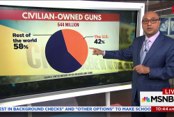 Here's who owns guns around the world and what laws work