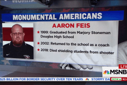 Coach Aaron Feis gave his life to save students