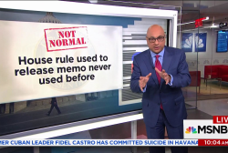 Here's how unusual the debate over releasing the Nunes memo is