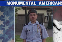 15-year-old Peter Wang is a Monumental American