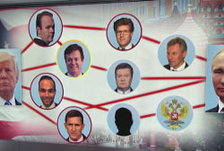 Here's a look at the web of connections tying President Trump and Vladimir Putin