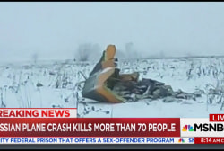 71 dead after Russian passenger jet crashes near Moscow