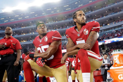 """LeVell: """"I still stand with the president"""" on criticizing NFL players protesting"""