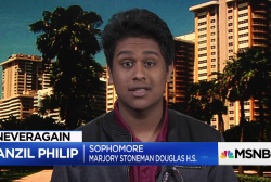 """Stoneman Douglas sophomore: We're """"angry"""" and """"determined to make change happen"""""""