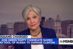 Jill Stein: Not aware of Russian effort to help my campaign