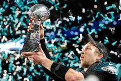 Eagles beat Patriots to win Super Bowl LII