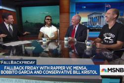 Fallback Friday with Vic Mensa, Bobbito Garcia and Bill Kristol