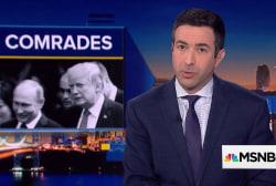 """Devastating: Watch Trump go from """"I've met him"""" to """"I never met Putin"""""""