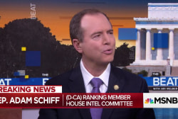 "Schiff: ""Indications"" Trump hiding materials on Comey discussions"