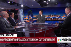 Explosive: Two of Roger Stone's closest associates say he's lying