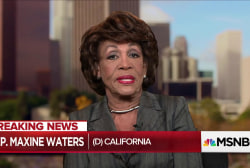 "Rep. Maxine Waters: Trump ""unworthy"" and ""should be impeached"""