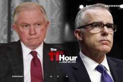 Jeff Sessions fires Trump nemesis FBI Dep. Dir. Andrew McCabe