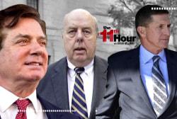 Rpts: Trump lawyer John Dowd talked pardons for Flynn & Manafort