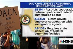 """Justice Dept. sues California over """"Sanctuary Cities"""""""
