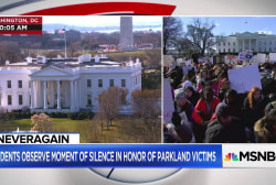 Students nationwide walk out, hold moment of silence for Parkland