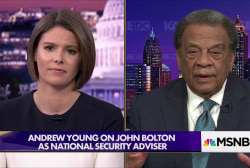 Amb. Young: 'Horrified' by Bolton as National Security Adviser