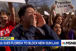 NRA can't scare youths demanding gun control