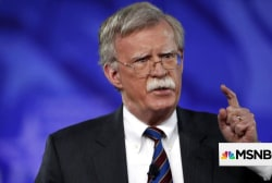 National Security Advisor Bolton compared to 'Yosemite Sam'