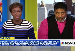 Bishop Dr. William Barber leads the Poor People's Campaign
