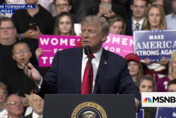 Trump speech at rally targets media, Maxine Waters