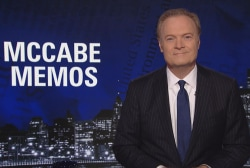 Lawrence: Trump's staff is keeping tabs on their convos with him