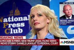Stormy Daniels' lawyer reacts to Trump lawsuit