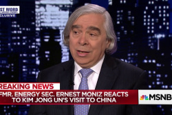 Obama Energy Sec. Moniz reacts to North Korea-China meeting