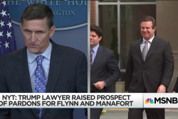 Trump lawyer floated possible pardons to Manafort, Flynn: Reports
