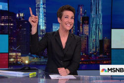 Maddow proud to announce first New York Times crossword puzzle!