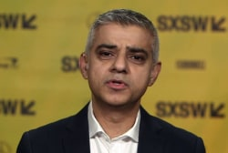 London mayor delivers keynote at SXSW festival