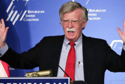 Bolton will reach for the military, says former admiral