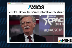 Will Bolton give Trump the foreign policy he wants?