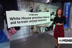 Trump admin moves ahead with plan to train, arm teachers