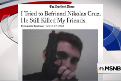 NYT: 'I tried to befriend Nikolas Cruz. He still killed my friends'