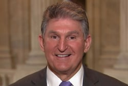 Manchin: People in WV did not trust Obama on guns, they trust Trump
