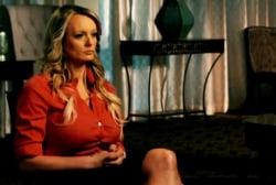 """Stormy Daniels on threats: I was rattled, """"my hands were shaking"""""""