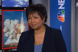 Mae Jemison, the first African American woman to go to space is #OneGreatWoman