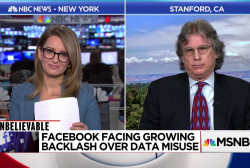 Unbelievable: Facebook facing growing backlash over data misuse