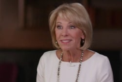 Fact-checking Education Secretary Betsy DeVos