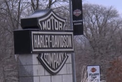 Trump's proposed tariffs could squeeze Harley Davidson