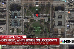 Secret Service responds to reports of shots fired at White House