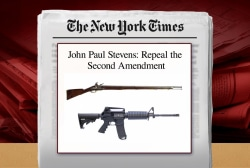 Making the case for reassessing Second Amendment