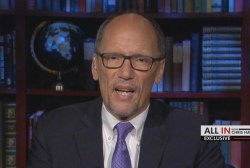 DNC Chair Perez on suit: 'We're protecting our democracy'