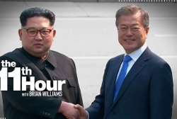 North Korean & South Korean leaders hold historic talks at DMZ