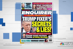 Trump-allied tabloid turns on Michael Cohen